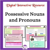 Possessive Nouns and Pronouns: Interactive Google Drive