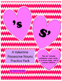Possessive Nouns for Valentine's Day - Includes a Mystery Picture