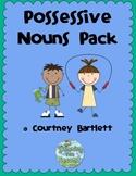 Possessive Nouns pack
