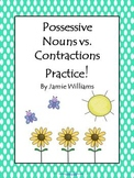 Possessive Nouns vs. Contractions