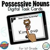 Possessive Nouns with Apostrophes Activity: 1st Grade Gram