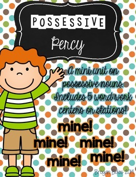 {Possessive Nouns}