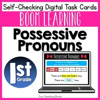 Possessive Pronoun Boom Cards (Digital Task Cards)
