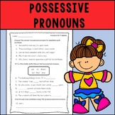 Possessive Pronouns Assessment