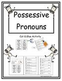 Possessive Pronouns (Cut & Paste)