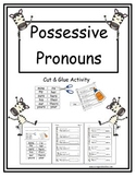 Possessive Pronouns (Cut & Paste)