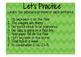 Possessive Pronouns Interactive Notebook lesson