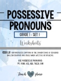Possessive Pronouns Pack
