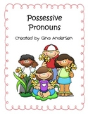 Possessive Pronouns Packet