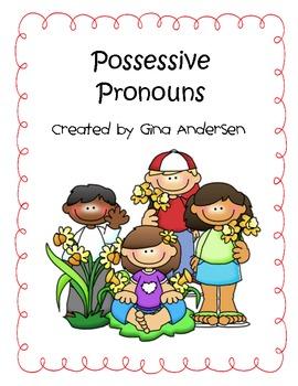Possessive Pronouns Packet