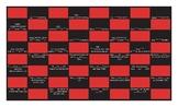 Possessive Pronouns Spanish Checker Board Game