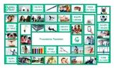 Possessive Pronouns Spanish Legal Size Photo Board Game