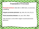 Possessive Pronouns Task Cards, Board Game, and SCOOT
