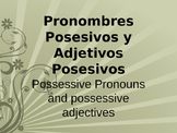 Possessive Pronouns and Possesive Adjectives