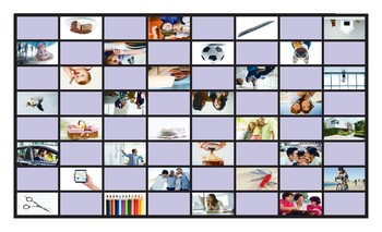 Possessive Pronouns and Possessive Case Checker Board Game