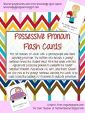 Possessive Pronouns and Possessive /s/ Flash Cards