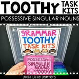 Possessive Singular Nouns Toothy™ Task Kits