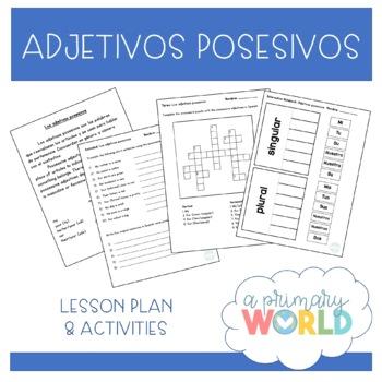 Possessive adjectives Spanish ~ Los adjetivos posesivos