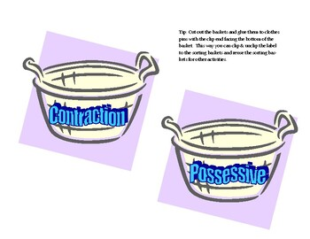 Possessive or Contraction?  It All Comes Out In The Wash