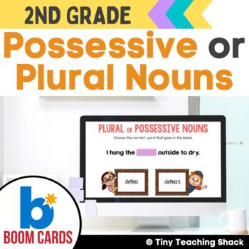 Possessive or Plural Noun Boom Cards