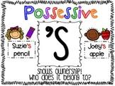 Possessive 's Poster