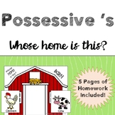 Possessive 's - Whose home is this?