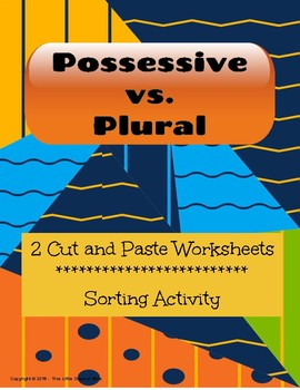 Possessive vs. Plural