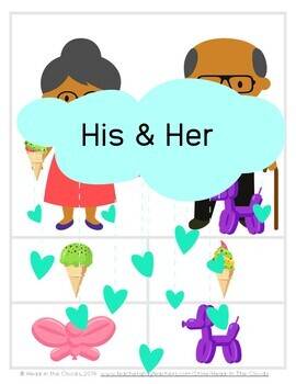Possessives - His & Her, Boy's & Girl's, Man's & Woman's - Expressive/Receptive