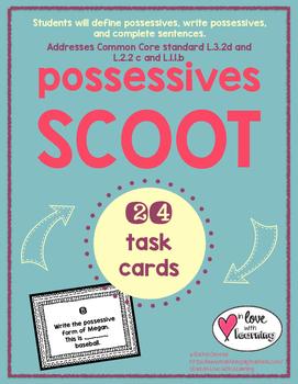 Possessives Scoot