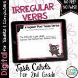 Past Tense Irregular Verbs: Digital Grammar Google Classroom Distance Learning