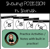 Possessives in Spanish: using DE, Possessive Adjectives, Possessive Pronouns
