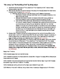 Possibility of Evil and The Lottery Compare/Contrast Essay