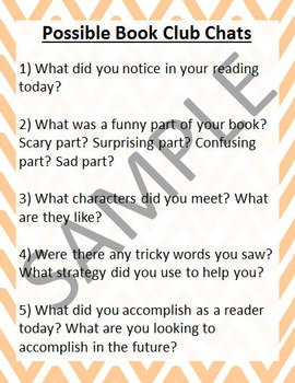 Book Club Conversation Starters