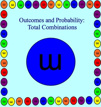 Possible Outcomes (Combinations) Math Smartboard Lessons