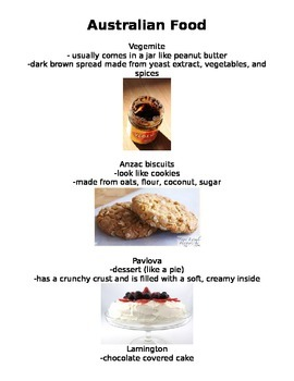 Possom Magic: Australian Foods