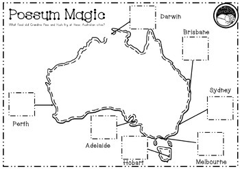 Possum Magic  ~ A week of reading activities to accompany the story
