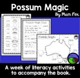 Possum Magic  ~ A week of reading activities to accompany