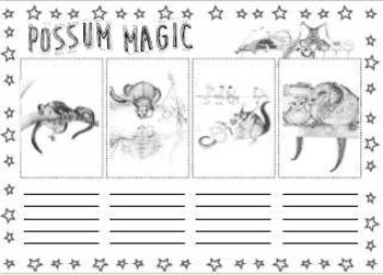 Possum Magic Activities - 7 Literacy Sheets