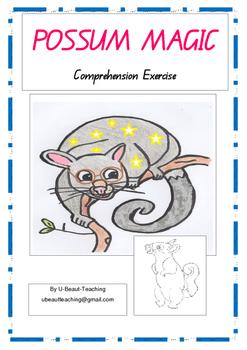 Possum Magic- Comprehension Exercise