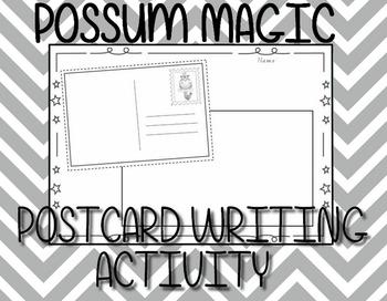 Possum Magic - Post card template  (Mem Fox)