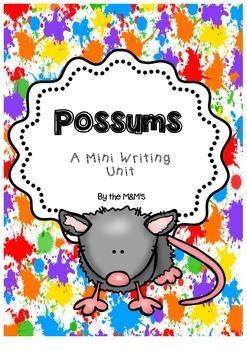 Possum Mini Writing Pack