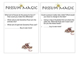 Possum magic question card