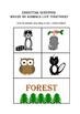 Possum's Harvest Moon- Hibernation Theme - Story Comp, Vocabulary, & Retell