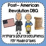 Post- American Revolution DBQ