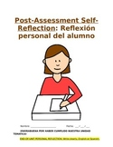 Post-Assessment - All Levels: Spanish Student's Self-Analysis and Reflection