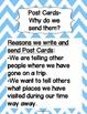 Post Card Mini-Lesson,Template, Brainstorming Map, and Rubric