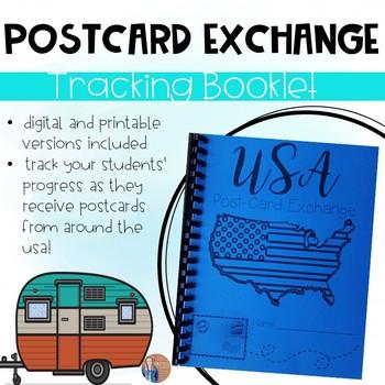 Post-Card Exchange Booklet (Printable & Digital Versions)