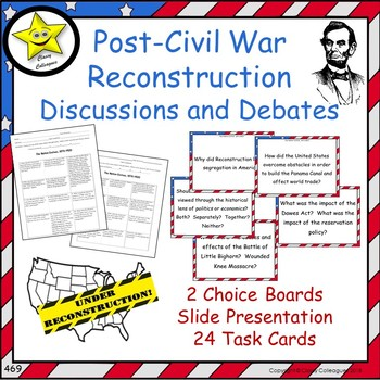 Civil War And Reconstruction Era Worksheets & Teaching Resources | TpT