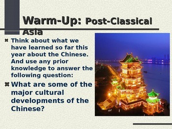 Post-Classical Asia