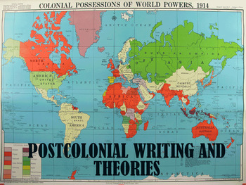 Post-Colonial Literary Criticism lesson + activity